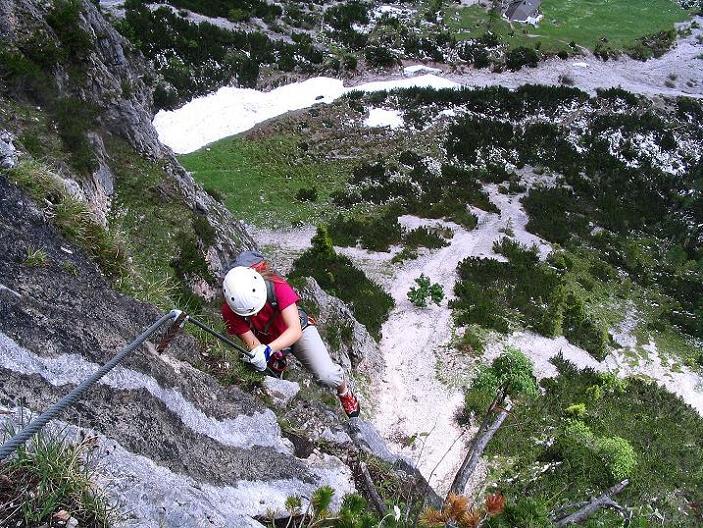 Klettersteig Eitweg : Siega klettersteig tour zimmer appartements pension sonnhof