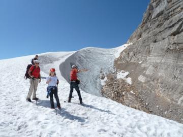 Gletscherwanderung zur Dachsteinwarte