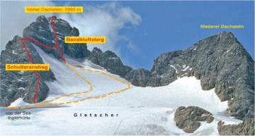 Klettersteig Hoher Dachstein