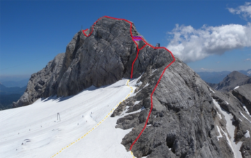 Klettersteig Westgrat Koppenkarstein